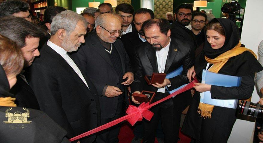 رونمایی از مدالیون(سکه یادبود) یوزپلنگ ایرانی توسط  وزیر صنعت، معدن و تجارت