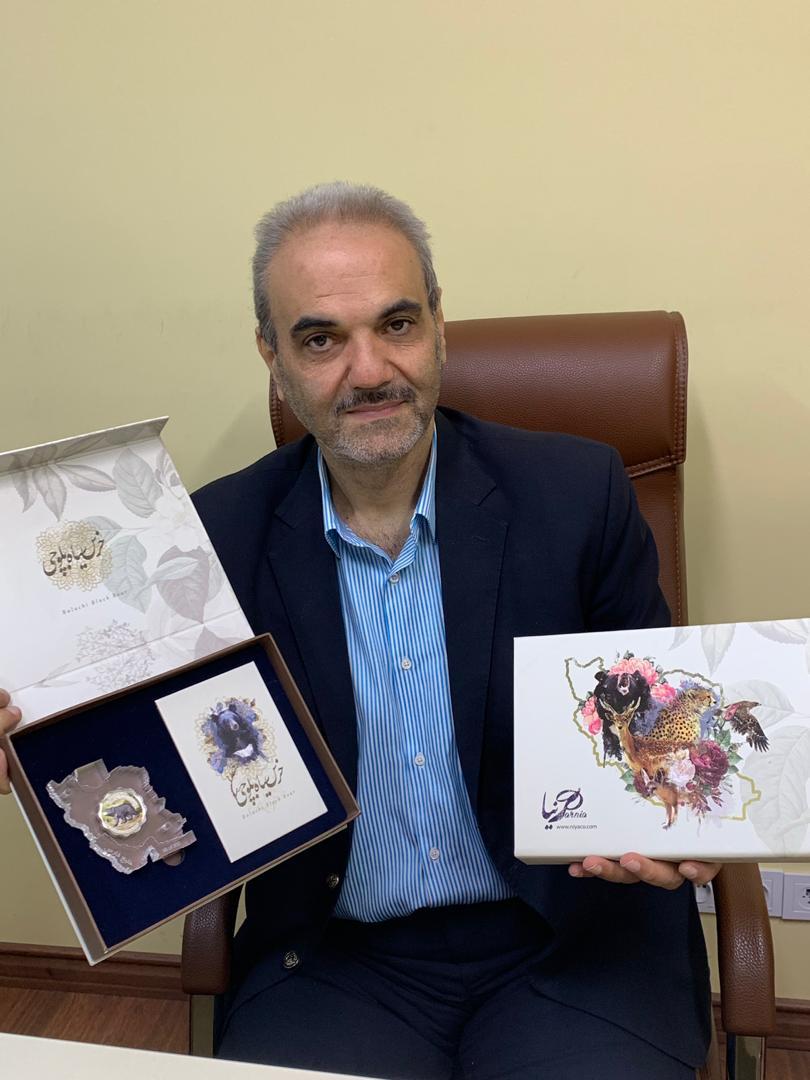 تقدیر جواد خیابانی از پروژه حیات وحش خانه سکه ایران