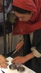 قالبهای سکه و مدال یوزپلنگ ایرانی با حضور خانم هدیه تهرانی امحاء شد